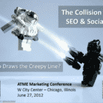 ATME Presentation – Collision of SEO and Social, Who Draws the Creepy Line?