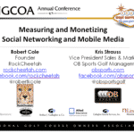 NGCOA Presentation – Measuring and Monetizing Social Networking & Mobile Media