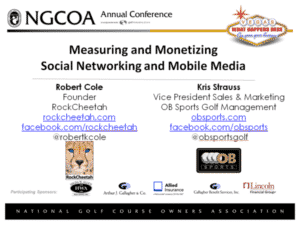 NGCOA Presentation Measuring and Monetizing Social Networking and Mobile Media