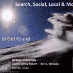 SkiTops University – Search, Social, Local and Mobile, How to Get Found