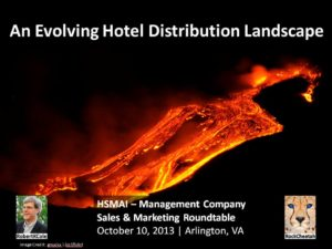 An Evolving Hotel Distribution Landscape