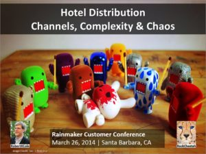 Hotel Distribution - Channels, Complexity & Chaos
