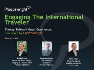 Engaging International Travelers Through Relevant Engagement