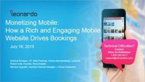 Monetizing Mobile Leonardo Webinar
