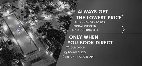 Hilton Curio Collection Positioning